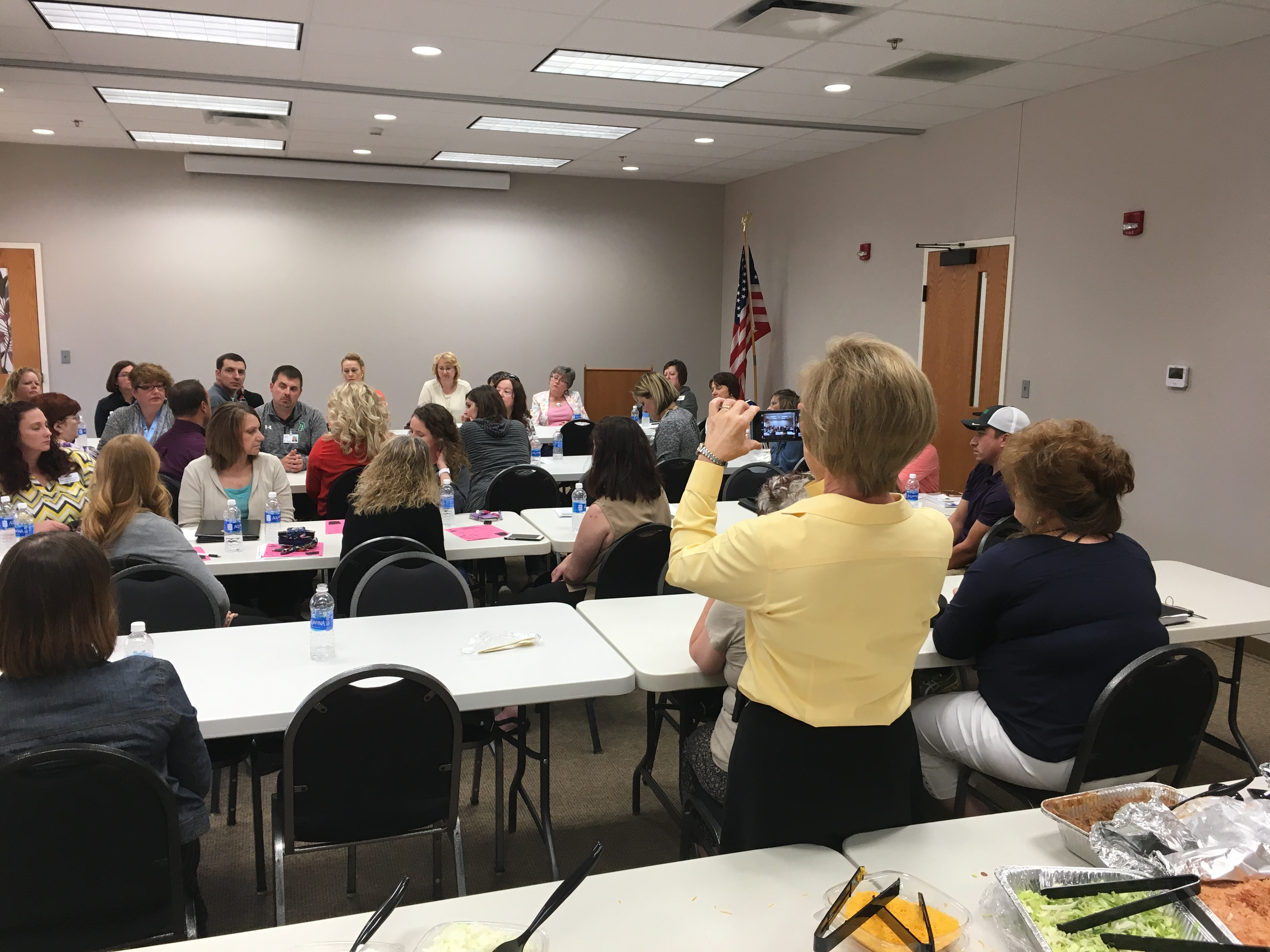 Another good turnout at our networking luncheon in Maryville. It was great to see you all!
