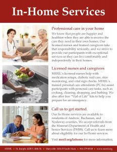 MERIL In-Home Services Handout