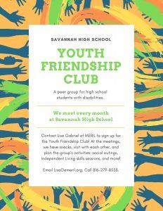 MERIL Youth Friendship Club Handout