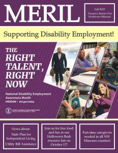 MERIL Newsletter - Fall 2019 cover