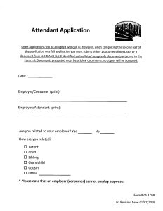 CDS Attendant Application (print 2-sided)