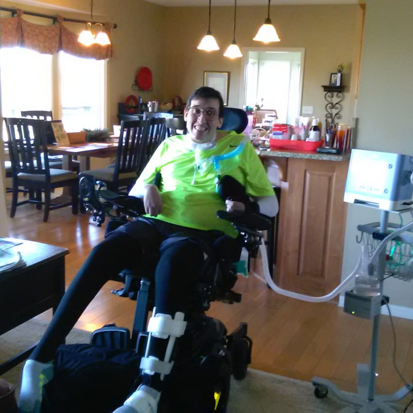 Michael is now living independently in his own home with the help of MERIL and the Money Follows the Person (MFP) program.